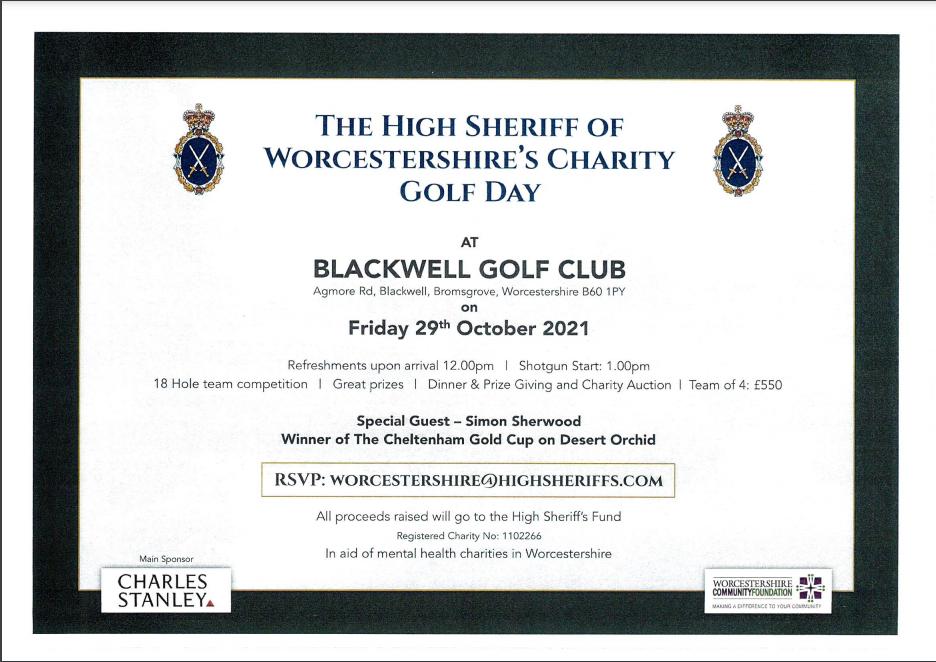 High Sheriff Charity Golf Day